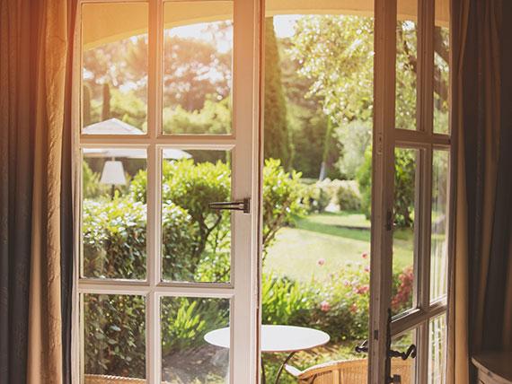 Ausblick in Ihren Garten
