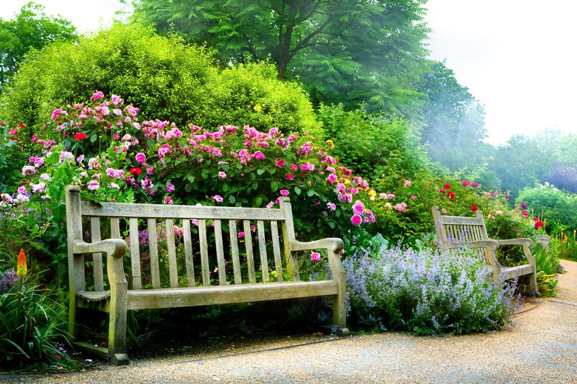 Mit Labau werden auch aufwendigere Gartenträume Wirklichkeit.